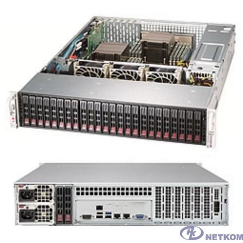 Supermicro SSG-2029P-E1CR24H Серверная платформа 2U BLACK