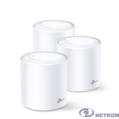 TP-Link DECO X20(3-pack) AX1800 Домашняя Mesh Wi-Fi система