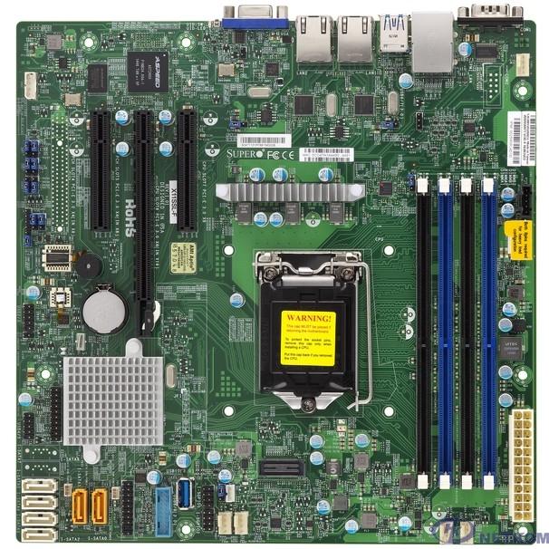 SuperMicro MBD-X11SSL-F-(B) {C232 S1151 MATX BLK} OEM