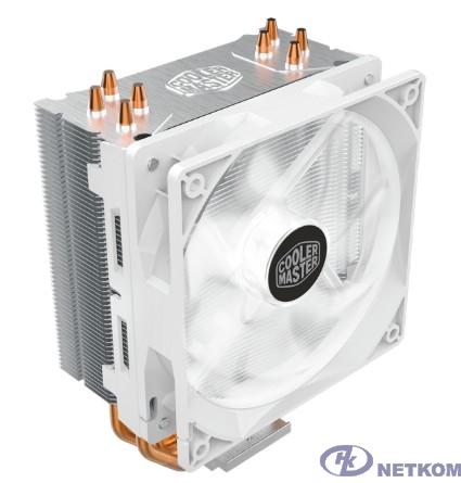 Cooler Master Hyper 212 LED White Edition, 600 - 1600 RPM, 150W, White LED fan, Full Socket Support RR-212L-16PW-R1