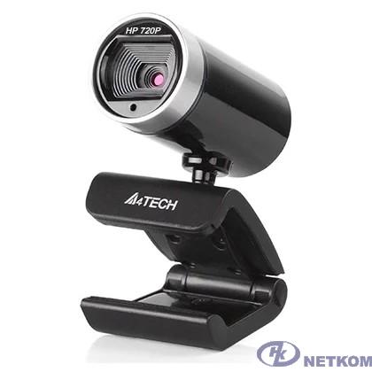 Web-камера A4Tech PK-910P {черный, 1280x720, 2Mpix, USB2.0, микрофон} [1193308]