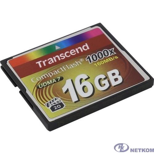Compact Flash 16Gb Transcend 1000X [TS16GCF1000]