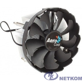 Кулер CPU Aerocool BAS (LGA 1151, 100W, 24 dB, 1200 rpm, 120мм, 3pin, алюминий) RTL