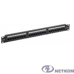 ITK PP24-1UC5EU-K05-G Патч-панель 1U кат. 5Е UTP 24 порта (Krone) GENERICA