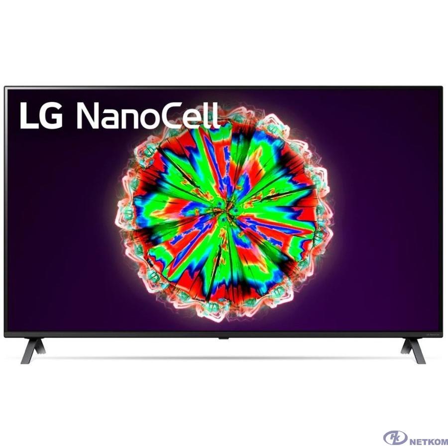 "LG 65"" 65NANO806NA NanoCell черный {Ultra HD/200Hz/DVB-T2/DVB-C/DVB-S/DVB-S2/USB/WiFi/Smart TV (RUS)}"