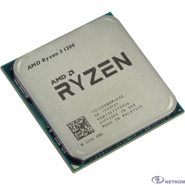 CPU AMD Ryzen 3 1200 OEM {3.1GHz, 8MB, 65W, AM4.} [YD1200BBM4KAF]