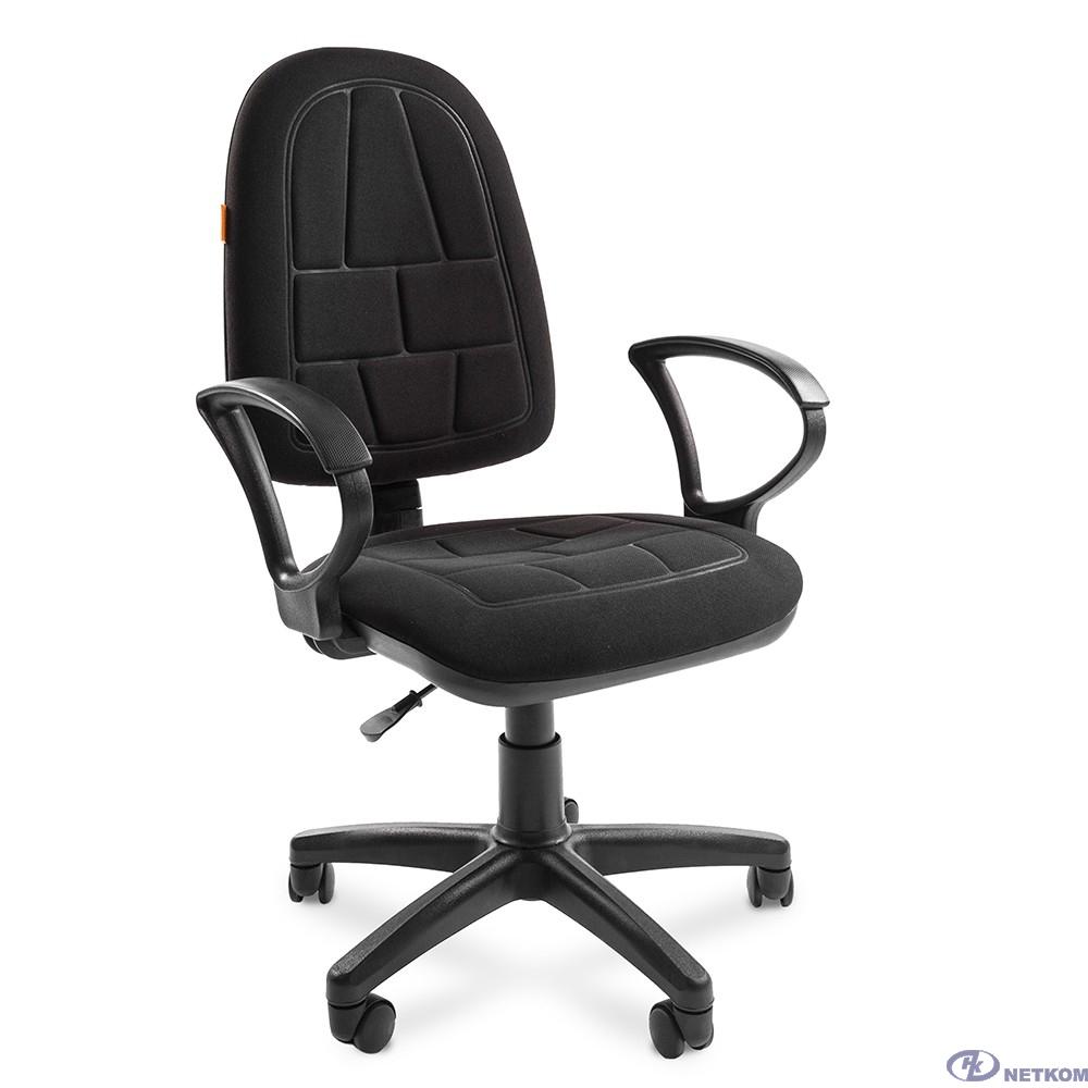 Офисное кресло Chairman    205    Россия     С-3 черный      (7033129)