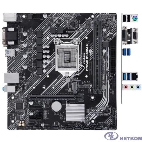 Asus PRIME B460M-K {Soc-1200 Intel B460 2xDDR4 mATX AC`97 8ch(7.1) GbLAN RAID+VGA+DVI}