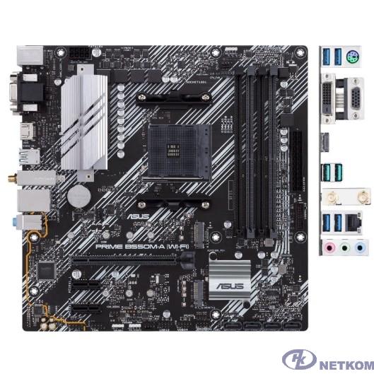 Asus PRIME B550M-A (WI-FI) {Soc-AM4 AMD B550 4xDDR4 mATX AC`97 8ch(7.1) GbLAN RAID+VGA+DVI+HDMI}