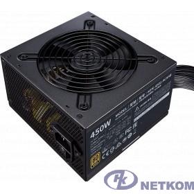 Power Supply Cooler Master MWE Bronze, 450W, ATX, 120mm, 6xSATA, 2xPCI-E(6+2), APFC, 80+ Bronze [MPE-4501-ACAAB-EU]