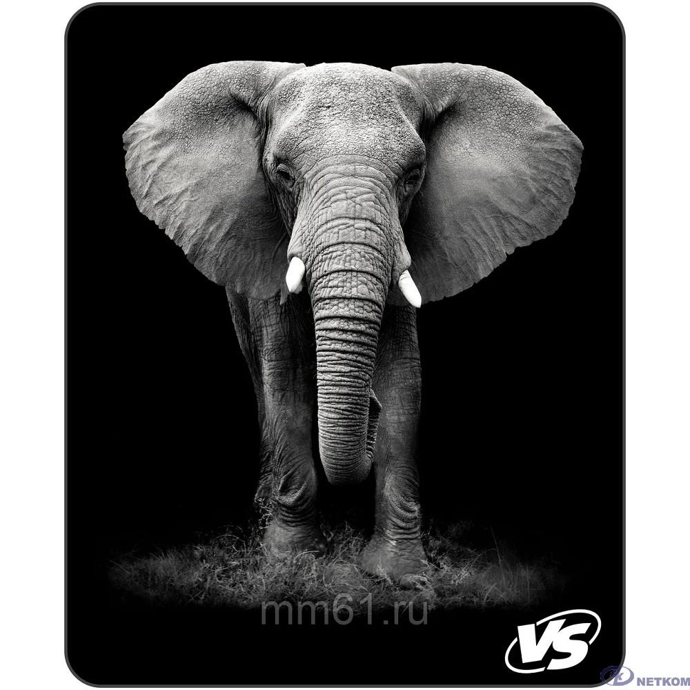 """VS Коврик для компьютерной мыши """"Фауна"""", """"Слон"""" (194*233*3 мм),полипропилен+вспененный пластик [VS_A4812]"""