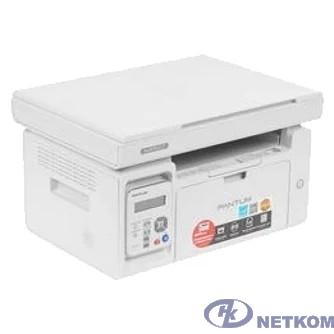 Pantum M6507 МФУ лазерное, монохромное, копир/принтер/сканер (цвет 24 бит), 22 стр/мин, 1200 x 1200 dpi, 128Мб RAM, лоток 150 стр, USB, серый корпус