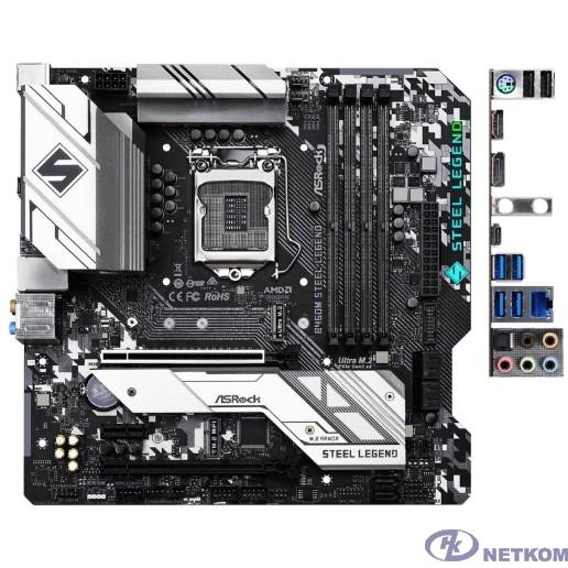 Asrock B460M STEEL LEGEND  RTL { LGA1200, Intel B460, mATX}
