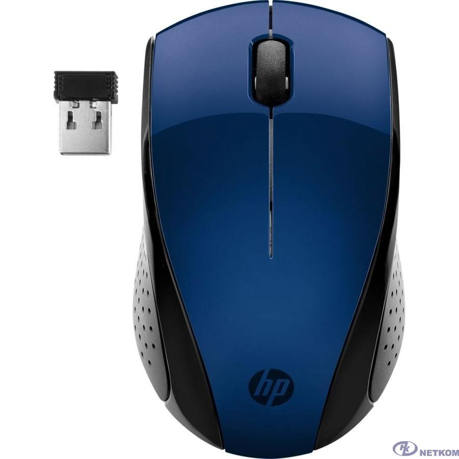 HP 220 [7KX11AA] Wireless Mouse Blue