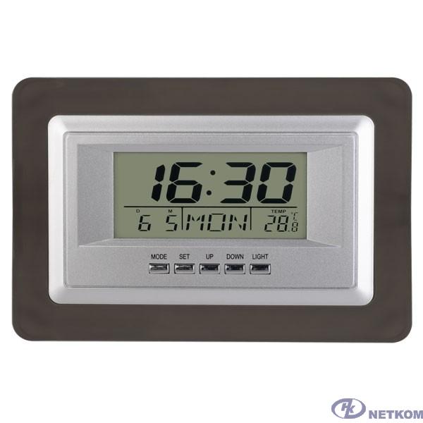 "Perfeo Часы-будильник ""Middle"", (PF-S2102) время, температура, дата"