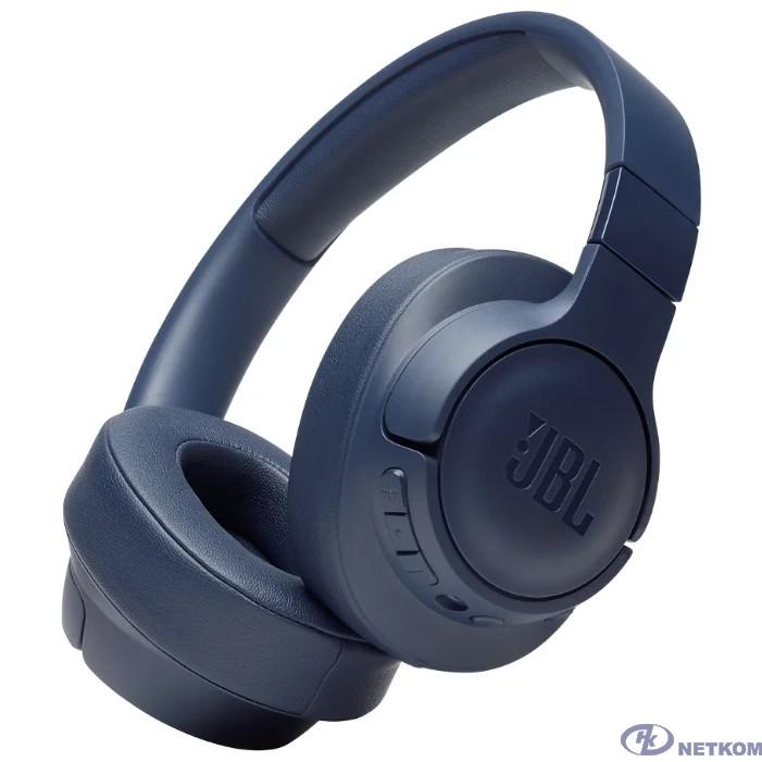 Наушники JBL Наушники беспроводные с активным шумоподавлением JBLT750BTNCBLU, синий