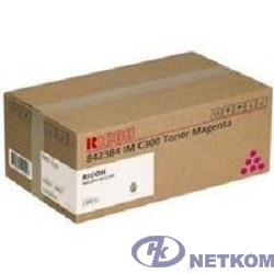 Принт-картридж IM C300 пурпурный для Ricoh IMC300/400 (10300стр. по ISO/IEC 19798) (842384)