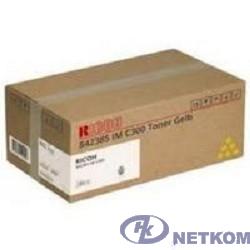 Принт-картридж IM C300 жёлтый для Ricoh IMC300/400 (10300стр. по ISO/IEC 19798) (842385)