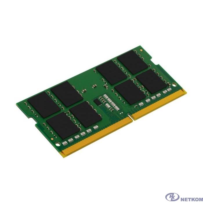 Kingston DDR4 SODIMM 32GB KVR26S19D8/32 PC4-21300, 2666MHz, CL19