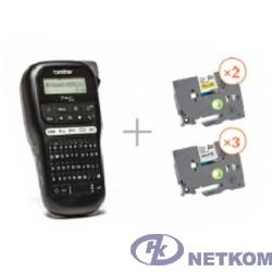 Brother PTH110R1BUND Принтер для печати наклеек в промо наборе PT-H110 + 5 кассет с лентой (PTH110R1BUND)