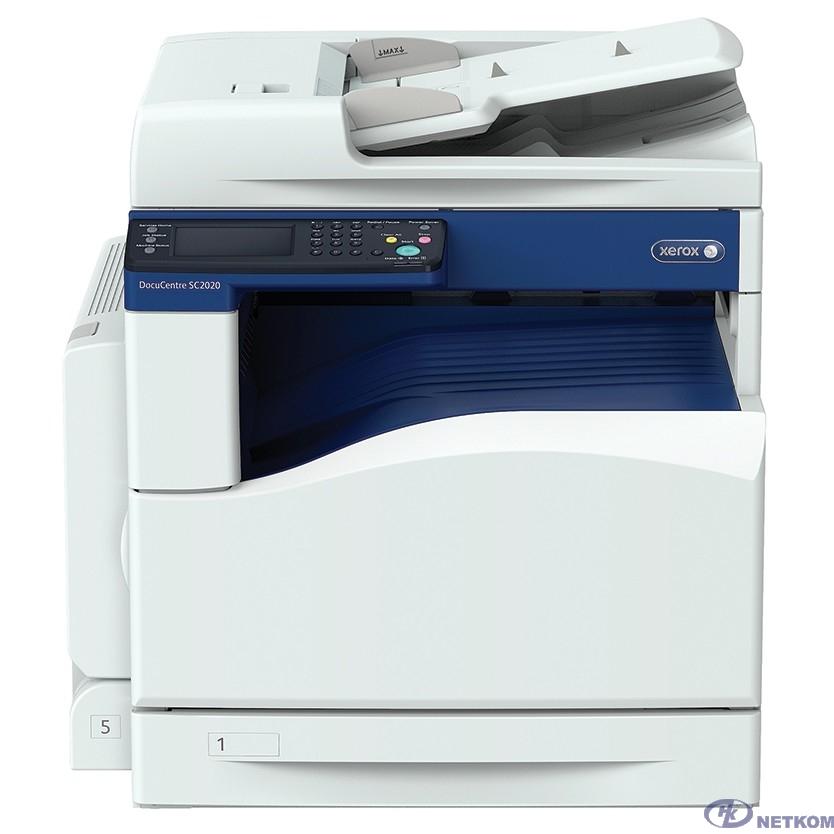Цветной МФУ Xerox DocuCentre SC2020  копир-принтер-сканер с автоподатчиком