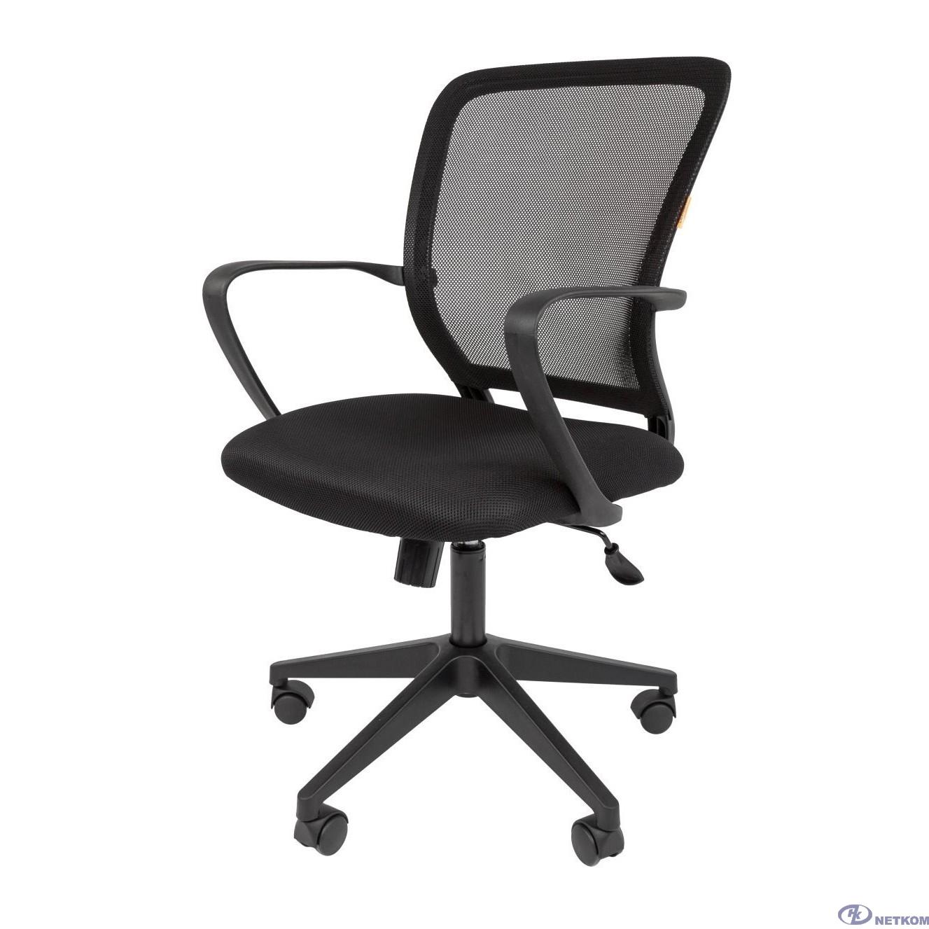 Офисное кресло Chairman    698   Россия     TW-01  черный (7058331)