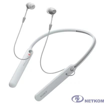 Sony WI-C400 белый беспроводные bluetooth (нашейный держатель)