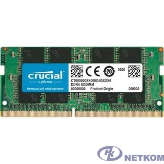 Crucial DDR4 SODIMM 8GB CT8G4SFRA266 PC4-21300, 2666MHz