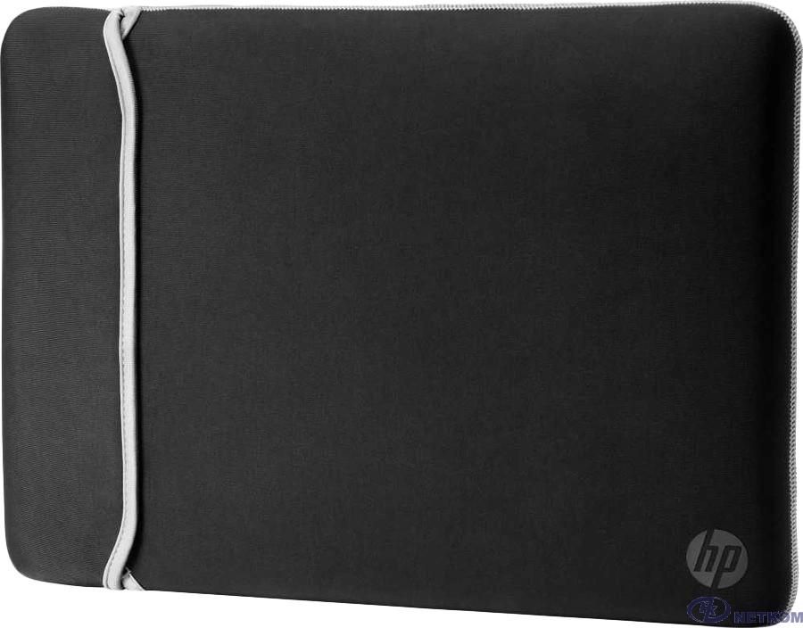 "HP [2UF62AA] Чехол 15.6"" Chroma Sleeve blk/silv"