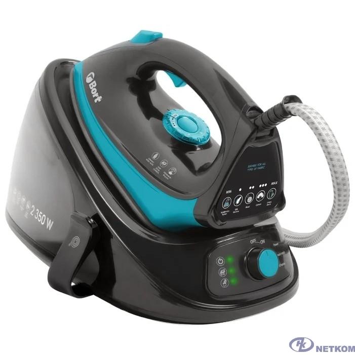 Bort Парогенератор SteamCare Plus {Мощность 2350 Вт; 4 бар; 55 г/мин;  98 °С; Емкость бачка 1100 мл;} [93411324]