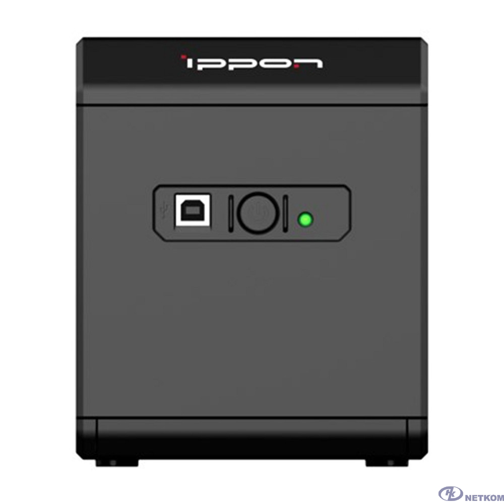 Ippon Back Comfo Pro II 1050 black {1189991}