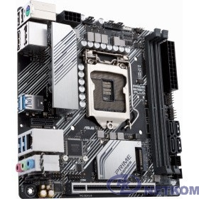 Asus PRIME B460I-PLUS {Soc-1200 Intel B460 2xDDR4 mini-ITX AC`97 8ch(7.1) GbLAN RAID+HDMI+DP}