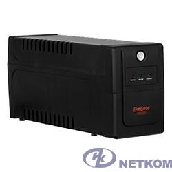 Exegate EP285472RUS ИБП ExeGate Power Back BNB-850.LED.AVR.C13.RJ.USB <850VA/480W, LED, AVR,4*IEC-C13, RJ45/11, USB, Black>