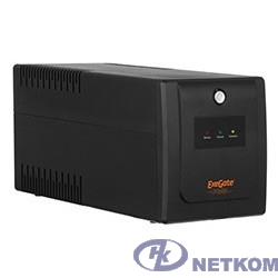 Exegate EP285523RUS ИБП ExeGate SpecialPro UNB-400.LED.AVR.C13.RJ <400VA/240W, LED, AVR, 4*IEC-C13, RJ45/11, Black>