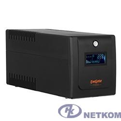 Exegate EP285581RUS ИБП ExeGate SpecialPro Smart LLB-650.LCD.AVR.EURO.RJ.USB <650VA/360W, LCD, AVR, 2 евророзетки, RJ45/11, USB, Black>