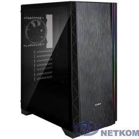 Корпус ZALMAN Z3 NEO, без БП, боковое окно (закаленное стекло), черный,  ATX