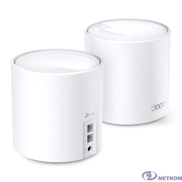 TP-Link DECO X20(2-PACK) AX1800 Домашняя Mesh Wi-Fi система