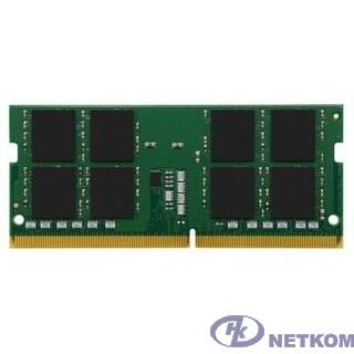 Kingston DDR4 SODIMM 8GB KVR32S22S6/8 PC4-25600, 3200MHz, CL22