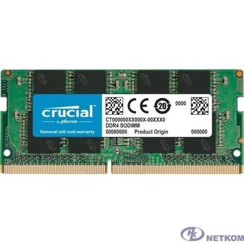 Crucial DDR4 SODIMM 16GB CT16G4SFRA266 PC4-21300, 2666MHz