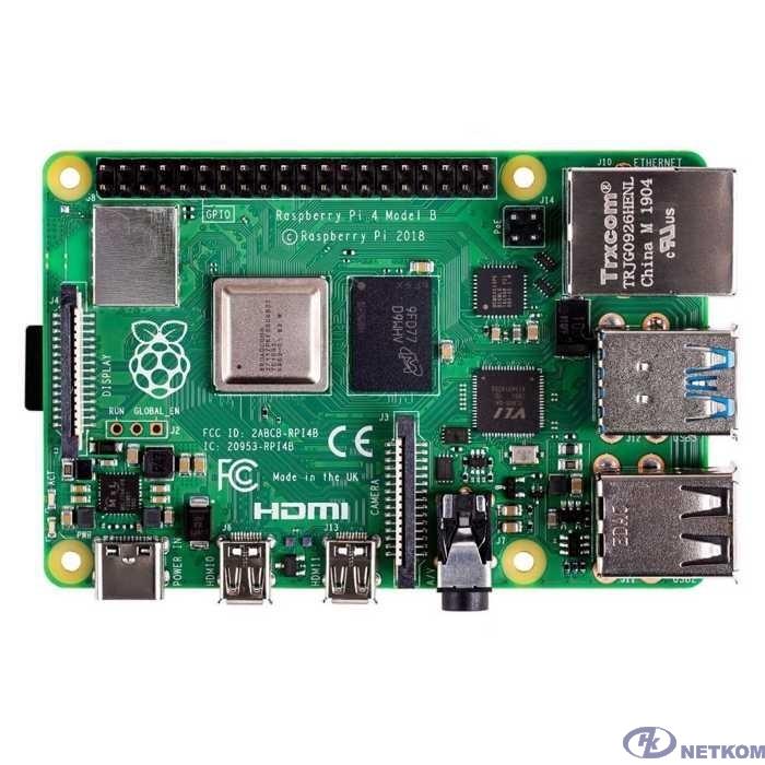 Микрокомпьютер Raspberry Pi 4 Model B 2Gb (44588 / RA502)