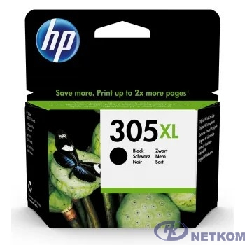 Картридж струйный HP 305XL 3YM62AE черный (240стр.) (4мл) для HP DeskJet 2320/2710/2720