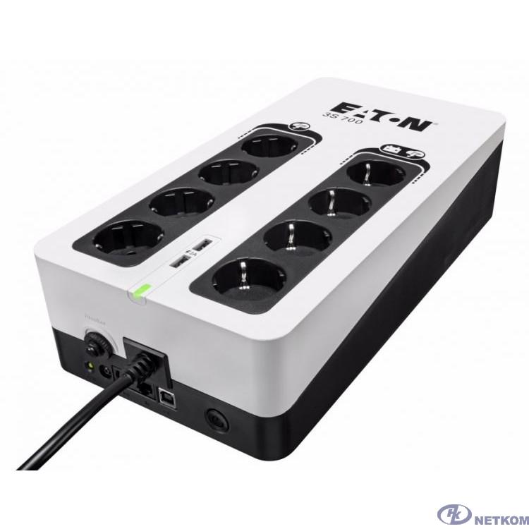 Eaton ИБП 3S 850 DIN 3S850D 510Вт 850ВА белый/черный