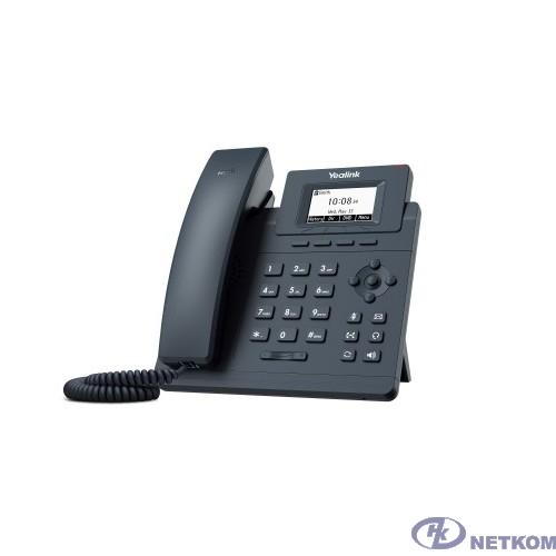 Yealink SIP-T30 Телефон SIP 1 линия, БП в комплекте