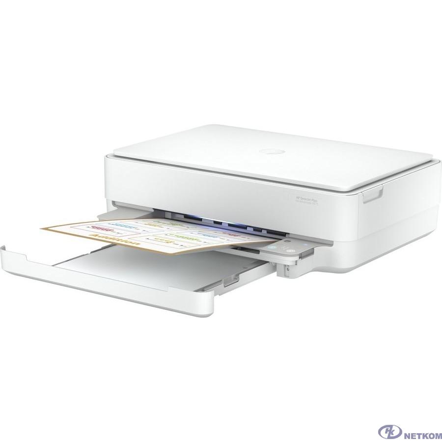HP DeskJet Ink Advantage 6075 (5SE22C) A4 WiFi USB белый