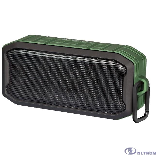 Defender G14 7Вт, зеленый, IP66/BT/FM/TWS [65014]