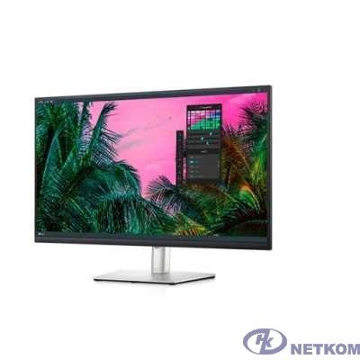 """LCD Dell 31.5"""" P3221D серый {IPS 2560x1440 75hz 5ms 350cd 1000:1 178/178 HDMI2.0 DisplayPort1.2 2xUSB2.0 2xUSB-C3.2(65W; DP) VESA} [3221-9473]"""