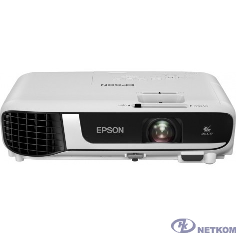 Epson EB-W51 [V11H977040] {3LCD 4000lm WXGA (1280x800) 16 000:1}