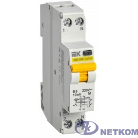 Iek MVD12-1-006-B-010 Выкл. авт. диф. тока АВДТ32 ML В6 10мА KARAT