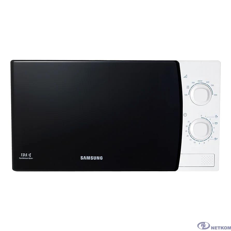 Samsung ME81KRW-1/BW white Микроволновая печь (Объем 23л, мощность 800 Вт) (ME81KRW-1/BW)