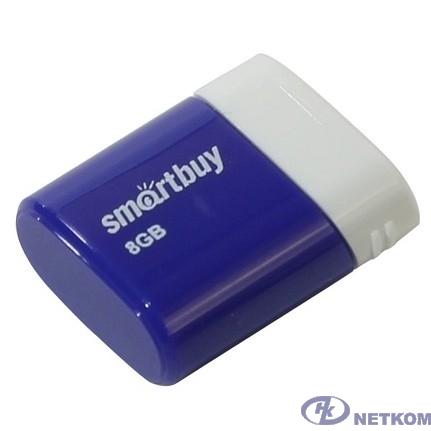 Smartbuy USB Drive 8GB LARA Blue SB8GBLara-B